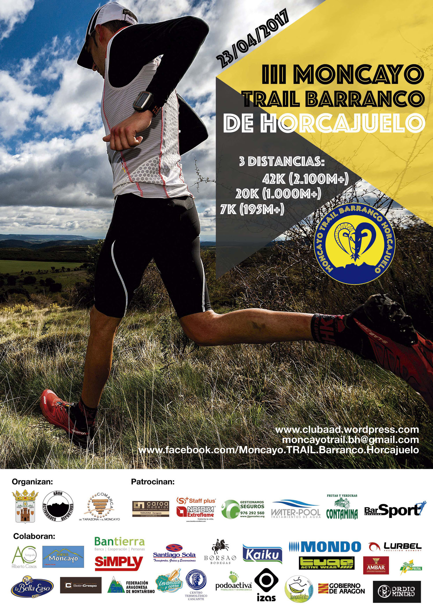 2017 trailbarrancohorcajuelo cartel