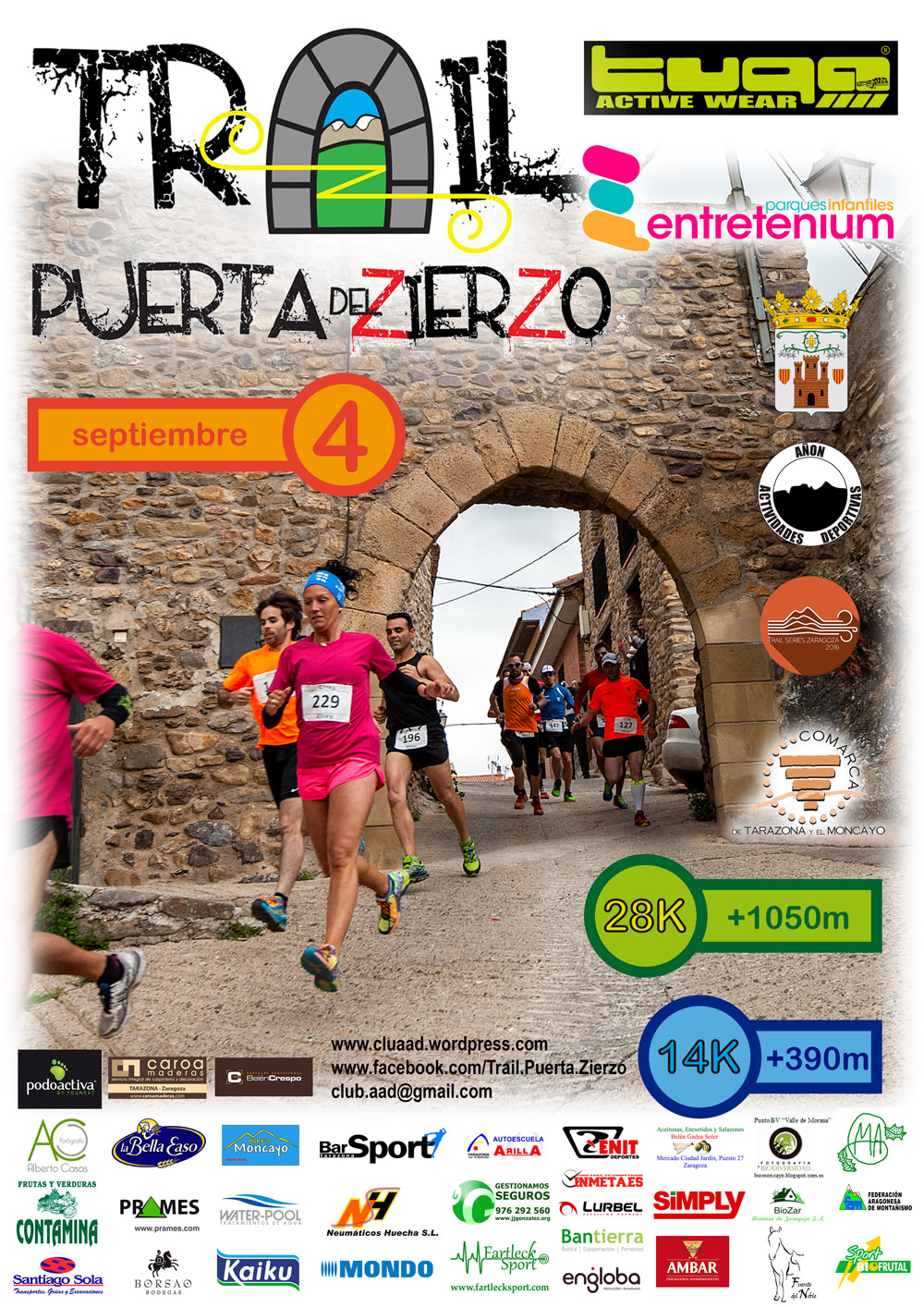 2016an trailpuertadelzierzo cartel